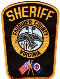 Fauquier County Sheriff patch