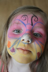 Face painting fauquier county
